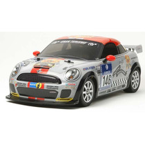 Coche Radio Control 1/10 Kit, Mini Jcw Coupe, Rc Tamiya