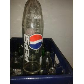 Envases De Pepsi Vidrio Litro Y Cuarto Vacias Lote Por 30