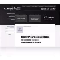 Script Php Para Site De Contabilidades - Testado