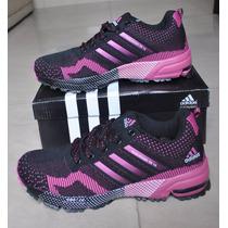Kp3 Zapatos Adidas Marathon Tr 15 Fucsia Para Damas Solo 36