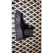 Botas De Mujer Nazaria T 40 Color Negro Nuevas!!!