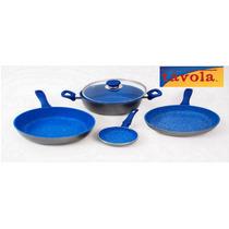 Bateria De Cocina Blue Ceramic