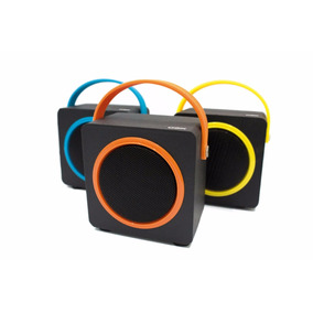 Caixa De Som Speaker Conexão Bluetooth Entrada Micro Sd Usb