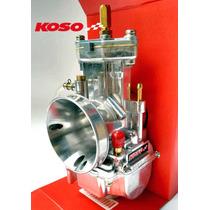 Carburador Competição Koso Espelho Original 34mm Power Jet
