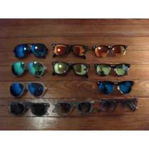 Anteojos Sol Ray Bans Clubmaster Wayfarer Cats 5000 Ice Pop
