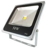 Reflector Led 50w Blanco Frio Equivale A 500w Exterior