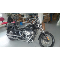 Bagageiro Com Ssissybar Harley Fxs Softail 2012 Fixo