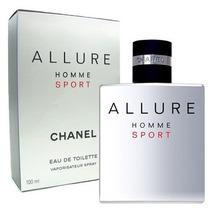 Perfume Allure Homme Sport Eau Toilette Chanel - Masc.100ml