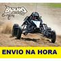 Projeto Kart Cross Megalodon Gaiola, Buggy - Promoção Ebook