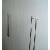 Puxador Aço Inox P/armários Cozinha/quarto 384 Mm-10 Peças