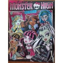 Álbum Figurinha Abril Monster High 2013