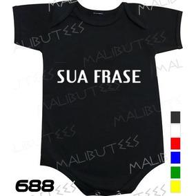 Body Bebe Com Frase Diferentes - Bodies Manga Curta Preto de Bebê no ... 7b8b46c7be7f5