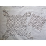 Carpetas Tejidas Al Crochet Nat X 2 Unidades Codigo 0516