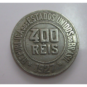 400 Reis De 1927, Moeda Antiga