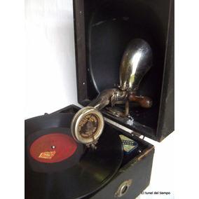 Antiguo Gramófono Ingles Decca Junior Vitrola Gramophones
