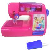 Presente Criança Maquina Infantil Costura Ateliê Princesas