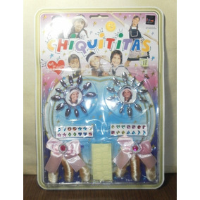 Antiguo Set De Belleza Chiquititas Princess Colours