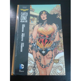 Wonder Woman Earth One Vol 1 | Dc Comics Tapa Dura En Inglés