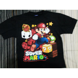 Polera De Mario Bros