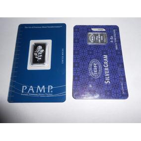 Lingote Plata 999 Proof Pamp Suisse Rosa Y Lingote Igr 2.5 G