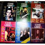 Revista Cine Libre / Números De 1982 A 1984