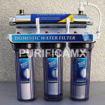 Purificador Filtro 4 Etapas Con Lampara Uv-c 16-w