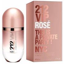 Carolina Herrera 212 Vip Rose Perfume Damas 80ml Original