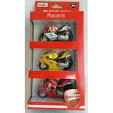Juguetes De Niño Set 3 Motos Coleccion Ducati Racers Burago