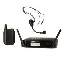 Sistema De Microfono Inalámbrico De Diadema Shure Glx-d Pg30