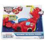 Transformers Rescue Bots Dinobot Heatwave Rescate