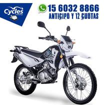 Yamaha Xtz 125 Financiala Hasta 36 Cuotas Fijas Con Tu Dni