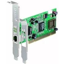 Placa Pci Gigabit 10/100/1000mbps Dge-528t D-link Low Prof