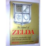 The Legend Of Zelda Gold - Nes Con Caja Sin Manual - Ojh