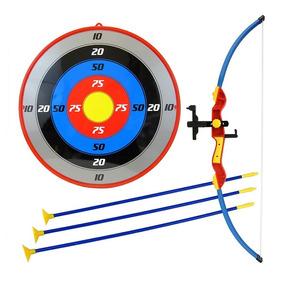Kit Arco Flecha Infantil Brinquedo Mira Laser Alvo Bel 4905