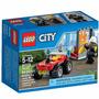 Lego City Todo Terreno De Bomberos - 64 Piezas