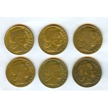 Argentina Lote Monedas 5 Ctvos. Torito