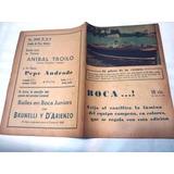Revista Boca...! Boca Juniors Campeon 1943 En Lamina Gigante