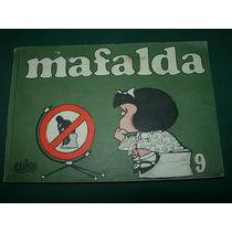 Revista Mafalda 9 Historieta Quino Ediciones De La Flor 1985