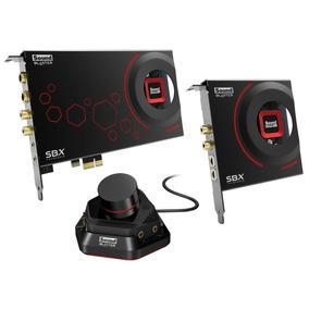 Placa De Sonido Creative Sound Blaster Zxr Spdif Optica Pcie