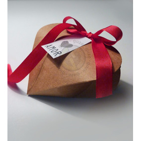 100 Cajas Corazon / Bombones - Confites - Souvenir