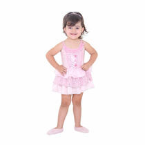 Fantasia Bailarina Bebe Luxo Sulamericana
