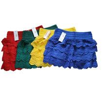 Roupas Femininas Atacado Revenda Kit Shorts Renda Guipir 10p