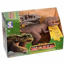 Dinossauro Tyrannosaurus Rex Com Som - Cotiplás