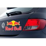 Adesivos Red Bull Frete Grátis 35cm X 21,5cm Veículos