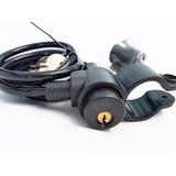 Candado De Cable Forrado Reforzado Bicicleta Con Dos Llaves