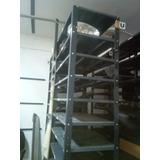 Estanteria Metal Reforzadas 6 Niveles 60x92x2.40