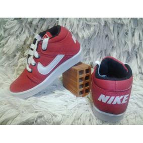 Tenis Botinha Nike Vermelho Infantil Masculino / Feminino