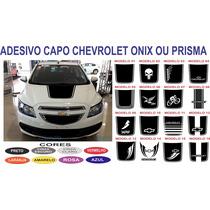 Acessorios Adesivo Capo Onix Prisma Sport Chevrolet