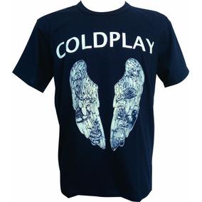 Camisa, Camiseta Coldplay Banda De Rock