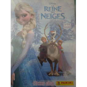 Album Frozen Ed. Francia Panini P/ Colar Completo